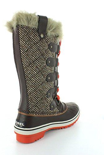 Sorel Kvinners Tofino Boot Cordovan Chevron