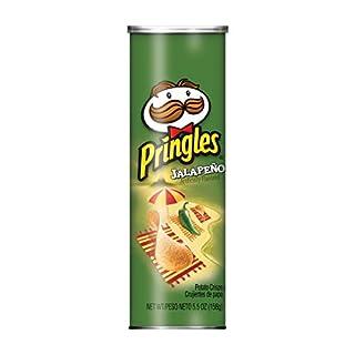 Pringles Potato Crisps Chips, Jalapeno Flavored, 5.5 oz Can