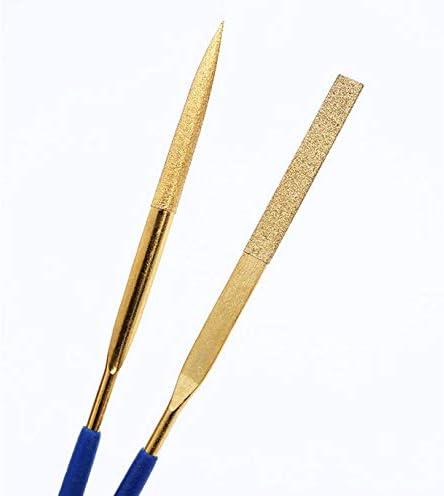 3x140mm Liyafy 10pcs Diamond Needle File Set Metal Handy Tools Wood Carving Craft Lapidary Ceramic Set
