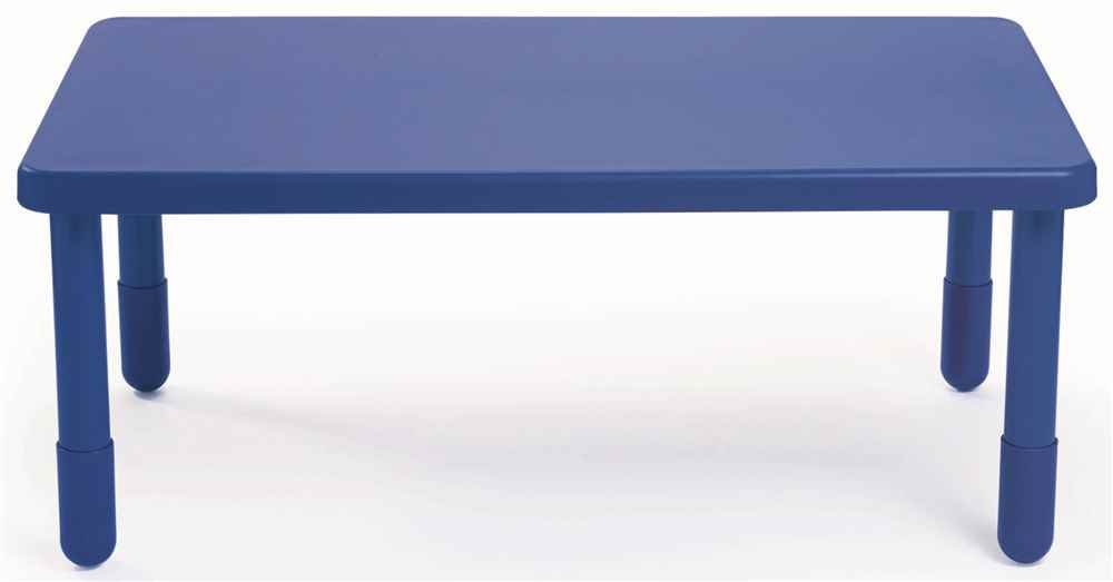 Rectangular Table in Royal Blue (16 in. Height)