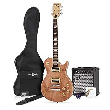 ostaa paras paras halpa tehtaanmyymälä New Jersey Electric Guitar + 15W Pack, Spalted Maple
