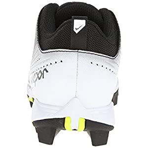 NIKE Boy's VPR Keystone 2 Low BG WD Baseball Cleat Black/White Size 3.5 M US