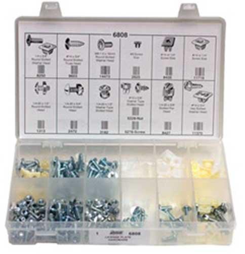171 Piece License Plate Hardware Quik-Select Kit Assortment ()