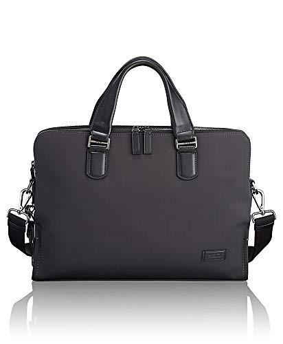 TUMI - Harrison Seneca Laptop Slim Brief Briefcase - 15 Inch Computer Backpack for Men and Women - Iron