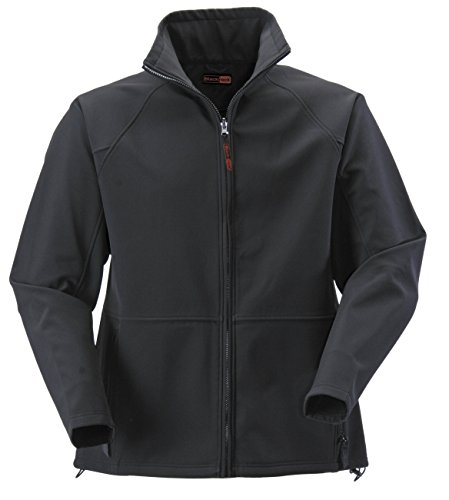 Rodo 2XL Black Atmosphere Soft Shell Jacket 8201107