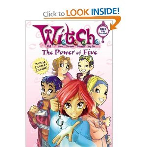 W.I.T.C.H Book #1 The Power of Five, Book # 2 The Disappearance, Book #3 Finding Meridian, Book # 4 The Fire Of Friendship (W.I.T.C.H. Chapter Books) PDF