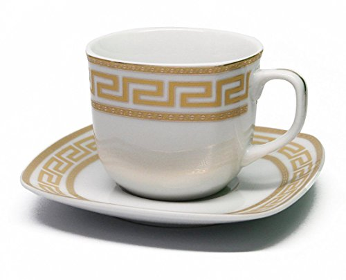 8 oz porcelain coffee cups - 5