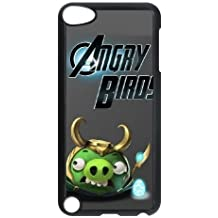 Durable Rubber Cases Ipod Touch 5 Cell Phone Case Black Angry Birds Pmjxee Protection Cover