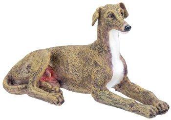 Greyhound Dog - Collectible Figurine Statue Figure Sculpture Puppy Greyhound Dog Figurine