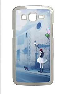 Samsung Galaxy Grand 2 Case - Beautiful Encounter Custom Samsung Galaxy Grand 2 Case Cover - Polycarbonate - Transparent