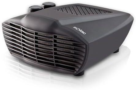 Solac TH8323 Comfort 2000 Interior Negro Radiador/ventilador ...