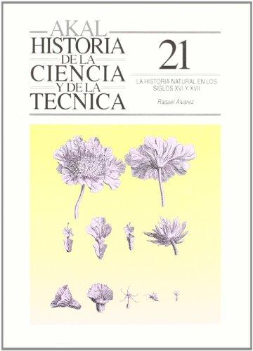 Descargar Libro La Historia Natural En Los Siglos Xvi-xvii Raquel Álvarez