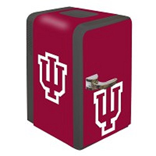 Boelter Brands NCAA Indiana Hoosiers Portable Party Fridge, 15 Quarts
