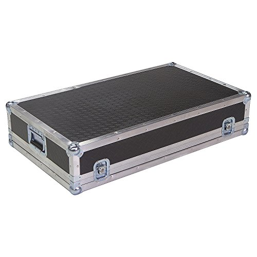 Mixer 1/4 Ply ATA Light Duty Case with Diamond Plate Laminate Fits Soundcraft Lx7 Ii 24 Channel by Roadie Products, Inc.