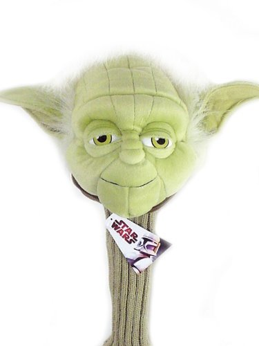Licensed Star Wars Yoda Golf Club Driver Head - Head Only Puppet