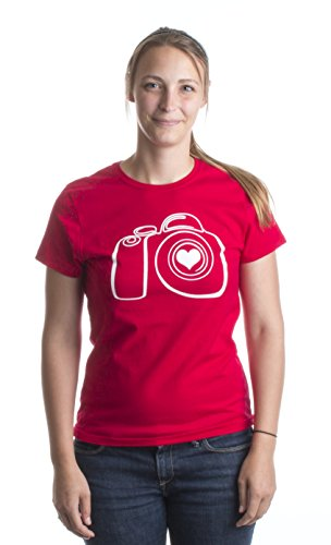 JTshirt.com-19744-Photography Love | Cute DSLR Stylized Photographer Camera Ladies\' T-shirt-B00CHZLHVW-T Shirt Design