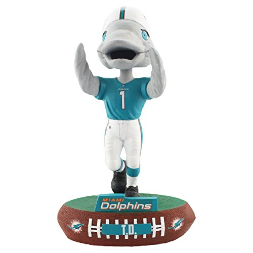Forever Collectibles Miami Dolphins Mascot Miami Dolphins Baller Special Edition Bobblehead NFL