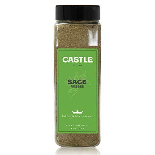 Castle Foods | SAGE RUBBED, 6 oz Premium Restaurant Quality