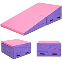 Best Choice Products Folding Gymnastics Incline Mat...