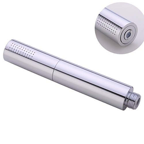 HANEBATH Round Brass Hand Held Shower Head 2-Setting Spray Or Rain Handshower (Handheld Shower Head Enema compare prices)