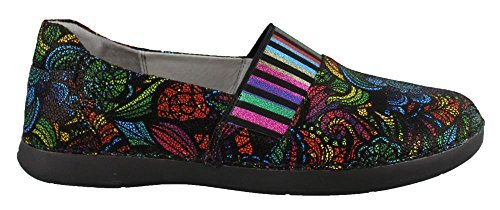 Alegria Women's Glee Stained Glass Flat Shoes (GLE-580) Size: Euro 38  US 8-8.5, Width: Medium