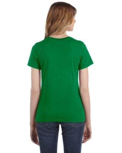 Green Kelly Anvil Maglietta Cotone Donna 100 PFWPz1q7n
