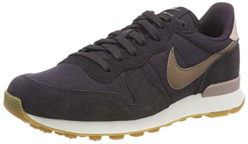 Summit Scarpe Internationalist Ginnastica Oil da Nike Donna White Brown Mink 024 Multicolore Wmns Grey qawZSP