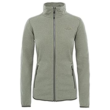 The North Face W 100 Glacier Full Zip Chaqueta, Mujer: Amazon.es: Deportes y aire libre