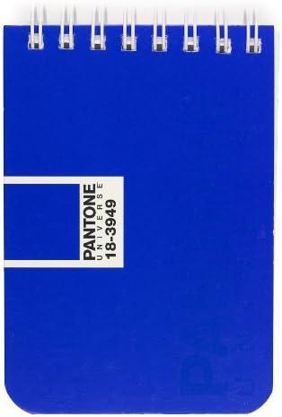 Pantone Universe Crossover Cahier A7 à Spirale Quadrillé