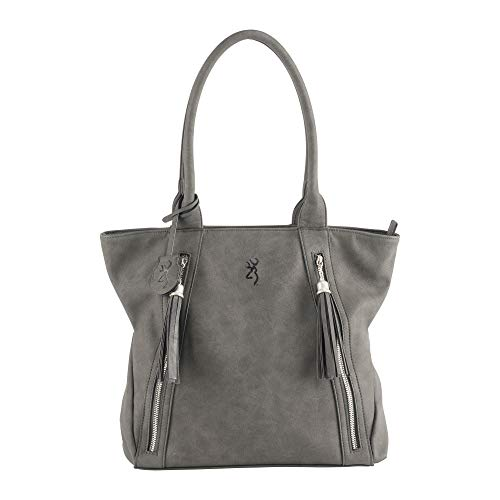 Browning Women's Alexandria Handbag Purse, Gray, 14
