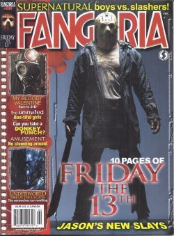 FANGORIA #280, February, Feb. 2009 (My Bloody Valentine; the Uninvited; Amusement; Underworld: Rise of the Lycans; Friday the 13th; Forrest J. Ackerman memorial)