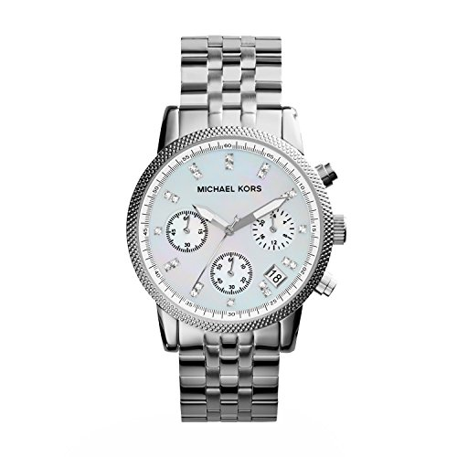 - Michael Kors Women's Ritz Silver-Tone Watch MK5020