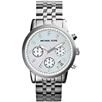 Michael Kors Women's Ritz Silver-Tone Watch (Silver)