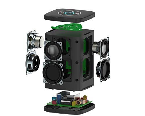 RIVA Concert with Alexa Built-in – Finally A Wireless Smart Speaker That Sounds Truly Amazing – WiFi, Airplay and Bluetooth Connectivity, Splash Resistant and Optional Battery (Black) by RIVA (Image #3)