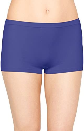Hanes Womens 3-Pack Get Cozy Seamless Boyshort Panty