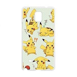 Anime cartoon Pokemon Pikachu Cell Phone Case for Samsung Galaxy Note4 hjbrhga1544