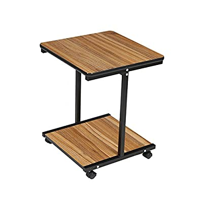 """End Tables Coffee Table Side Table with Wheels for Living Room Furniture(15.5""""L x 15.5""""W) from BARBALL -  - living-room-furniture, living-room, end-tables - 41YQ lPmtdL. SS400  -"""