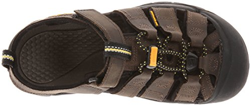 Unisex Dark Brown Dark 000 Keen Brown Brown Sandals Hiking Premium Kids' c Newport UPdqdwSv