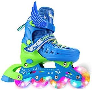 保護具換気システムのインラインスケート四輪サイズ調整フルセットのフルフラッシュ良い選択の8ラウンド