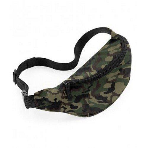 Bagbase Adjustable Belt Bag (2.5 Liters) (One Size) (Jungle Camo)
