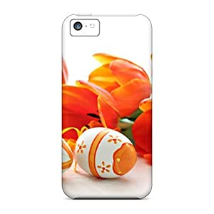 Easter Sunday Pretty Tulips Awesome High Quality Iphone 5c Case Skin