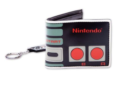 Nintendo Gift set Controller wallet & Key chain