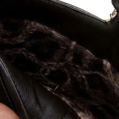 el black Botas Tobillo Perla GLL Otoño Botas Innovador de Blanco amp;xuezi Confort Imitación Casual Negro Mujer hasta Invierno Semicuero Stiletto Tacón nqOxtWrXxR