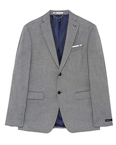 Zara Men Bird?s-Eye Suit Blazer 1564/350 (54 EU) Black ()