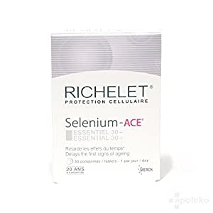 Richelet ANTI-AGE Selenium-ACE 30 tablets - 1 month supply