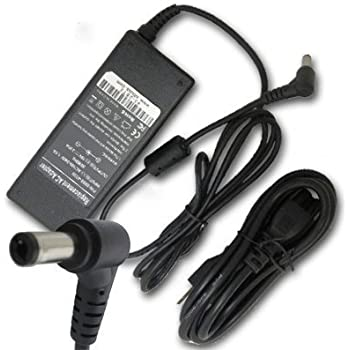AC Power Adapter/Battery Charger for Toshiba Satellite A105-S2061 A105-S2071 A130 A215-S4697 A215-S4747 A215-S7422 L45 M200 M205 M60 M65 P200 U300 ...