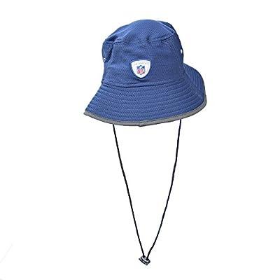 New Era New England Patriots NFL 17 Men's Training Bucket Hat Navy Blue/White 11459744
