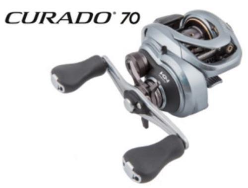 Shimano Curado 70 HG (7.2:1), Right Hand Baitcast Fishing Reel, CU70HG