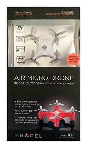 Propel Air Micro Drone, White