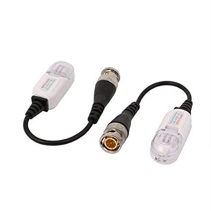 eDealMax Par xHD 720P 1080P CVI TVI AHD Balun Video coaxial BNC a UTP CAT5 Para